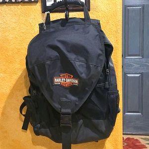 Harley davidson big backpack